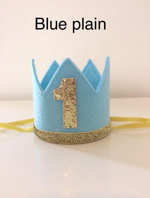 Bébé Garçon 1st Anniversaire Gâteau Smash Prop Outfit couleur bleue Handmade