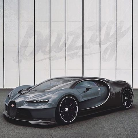 I've heard this will be the all-new Bugatti Chiron! At least it's not ugly like its predecessor.