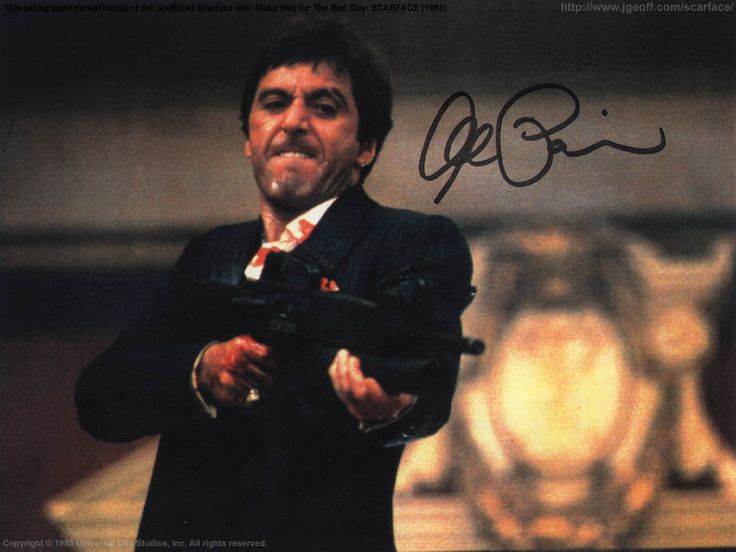 17 best images about scarface on pinterest mansions for Occhiali al pacino scarface