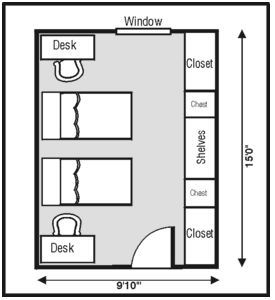Smith Hall Layout. Fort CollinsDorm RoomLife ... Part 51