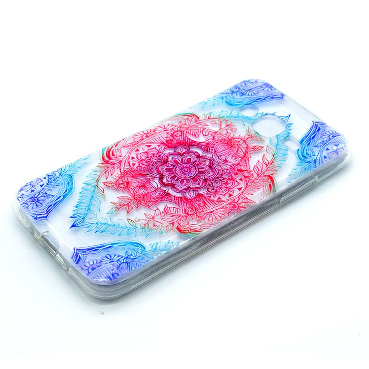 >> Click to Buy << Henna Mandal tpu cases For samsung galaxy J3 J5 case flower silicone cover for samsung j3 j5 j7 2016 coque etui hoesje pouzdra #Affiliate