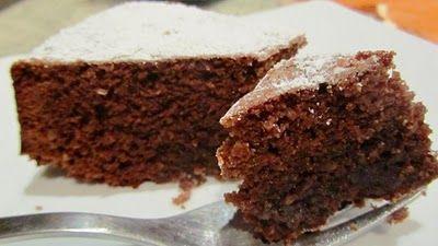 Ricette dolci: torta facile noci e cioccolato