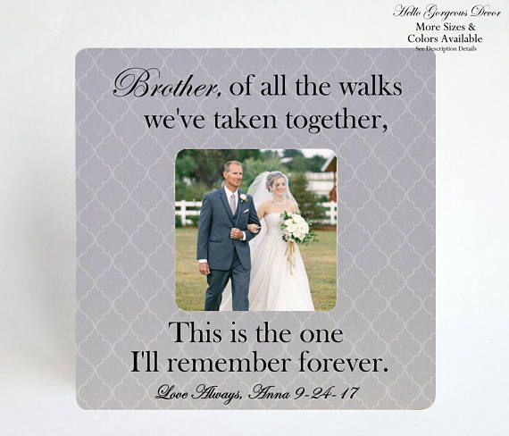 Brother Wedding Gift: Best 25+ Brother Wedding Gifts Ideas On Pinterest