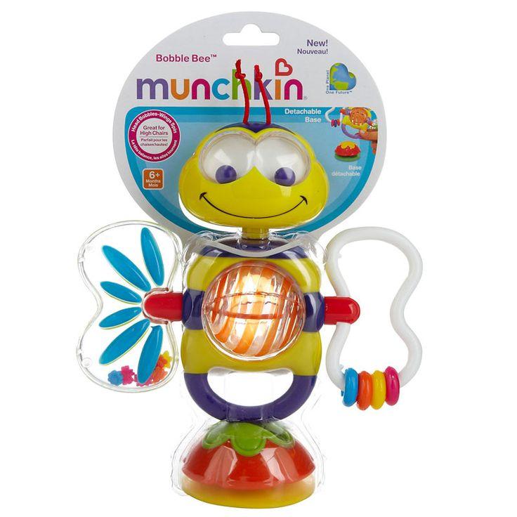 Abejita Interactiva, Un divertido y colorido juguete que impulsa el desarrollo de las diferentes actividades. Conoce todos sus beneficios en www.wombox.co  #juguete #estimulación #crecimiento