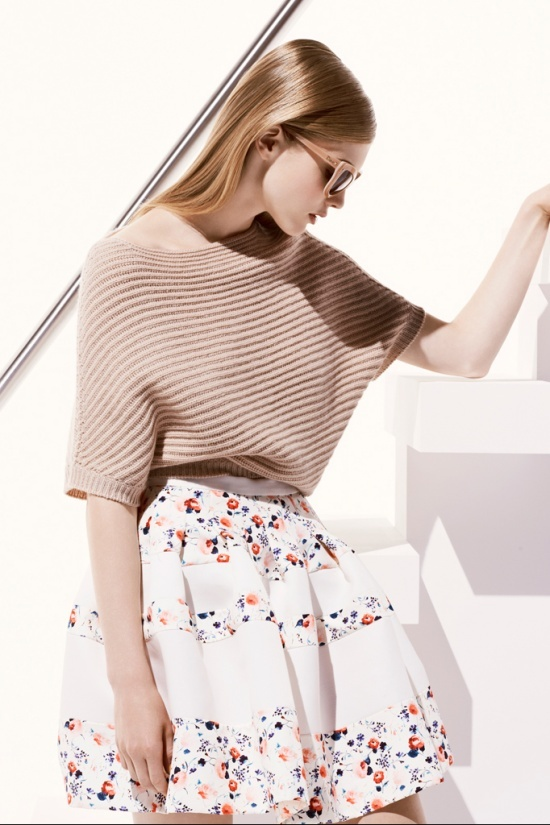 Light.Floral Skirts, Summer Looks, Day Outfit, Christian Dior, Spring Summer, Resorts 2013, Resorts Fashion, Fashion Spring, Dior Resorts