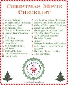 The 25+ Best Christmas Checklist Ideas On Pinterest | Holiday Traditions,  Christmas 2016 And Holiday Checklist  Christmas Preparation Checklist