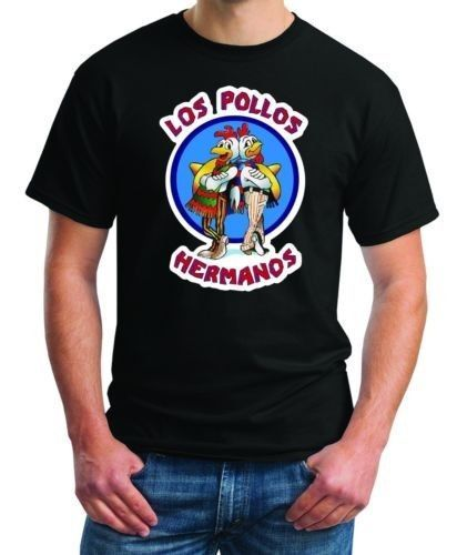 LOS POLLOS HERMANOS  Breaking Bad chicken Hanes T Shirt