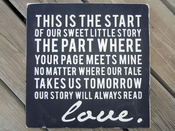 28 best quotes for wedding album images on Pinterest | Wedding ...