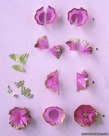 valentine cupcake liners