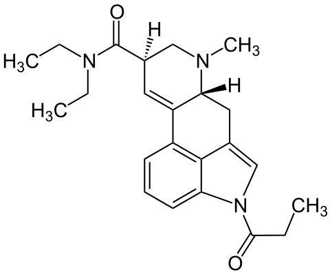 1P-LSD formula C23H29N3O2
