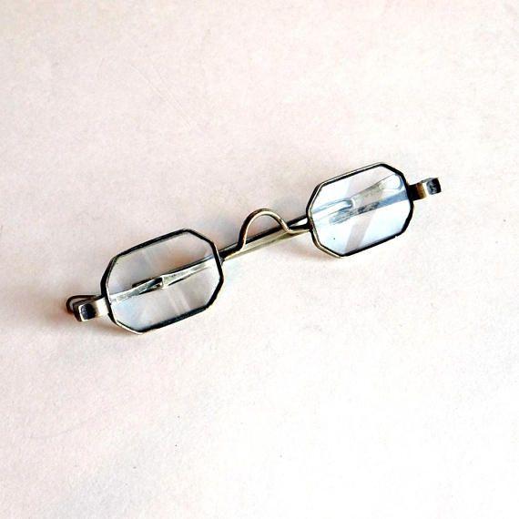 capricious steampunk bookends. Vintage Antique Octagonal Eyeglasses Silvertone Metal Frames 32 best  Victorian Treasures images on Pinterest Capricious Steampunk Bookends Home Design Plan