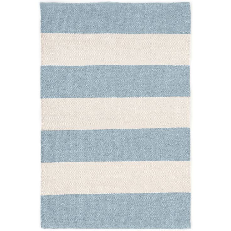 At Home Outdoor Rugs Part - 43: Falls Village Stripe Blue Indoor/Outdoor Rug