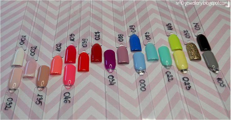 iv90-jewellery: Hybrydy Semilac - Przegląd 20 kolorów