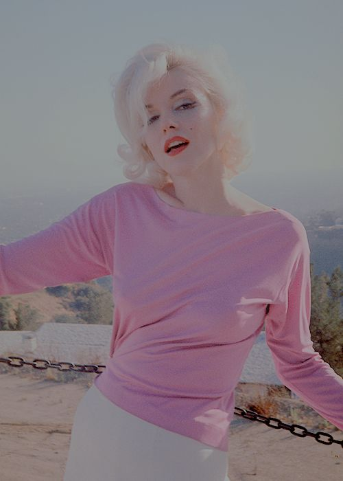 "normajeaned: """"Marilyn Monroe photographed by George Barris, 1962."" """