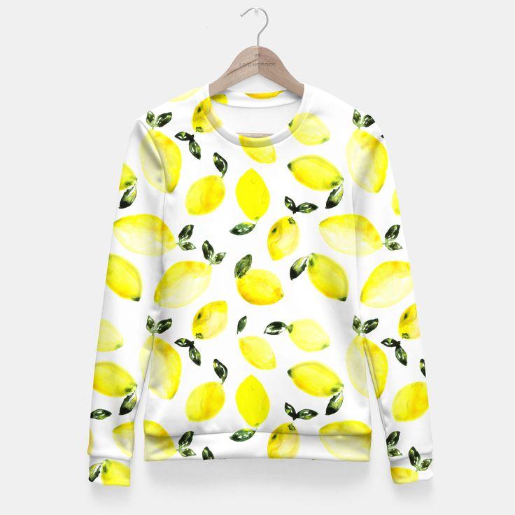 Lemons Fitted Waist Sweater by Katerina Izotova 49.95€
