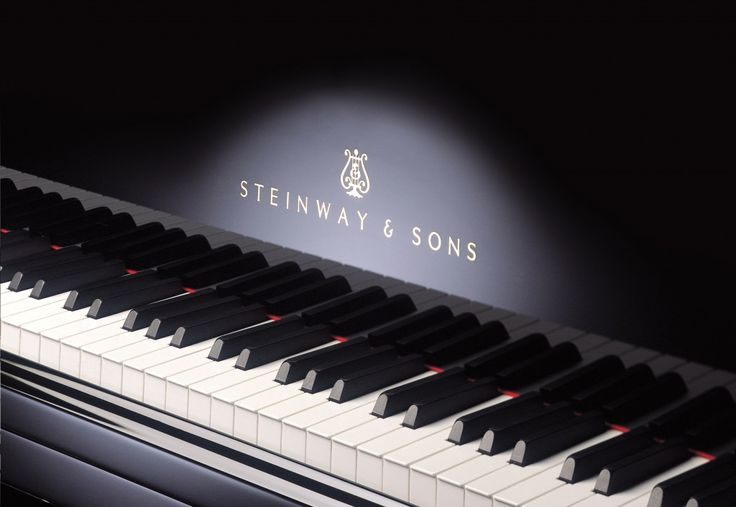 Great shot of the Steinway Piano logo