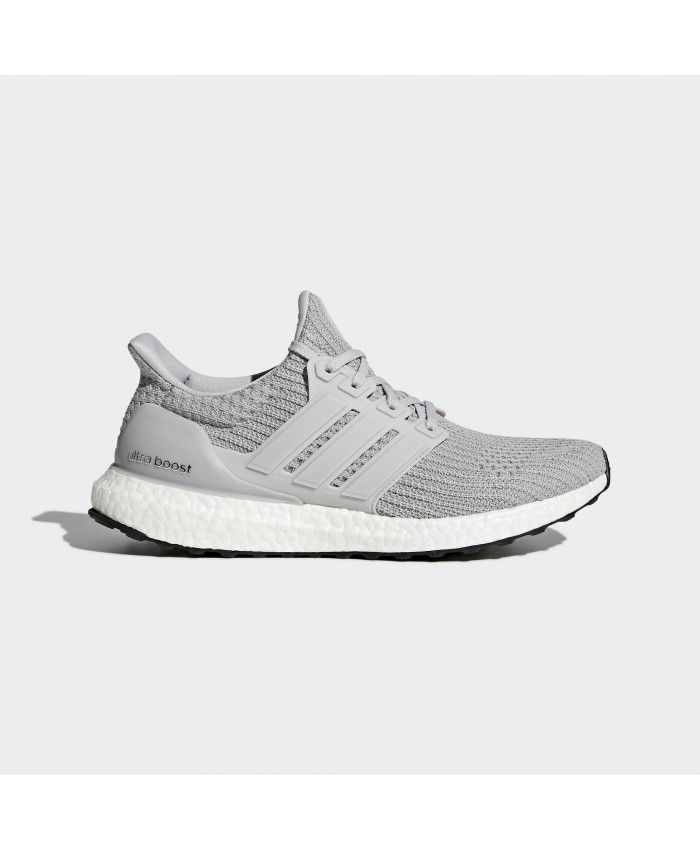 Adidas Ultra Boost Wolf Grey White Trainers For Cheap Sale Running Shoes For Men Running Shoes Grey Sneakers