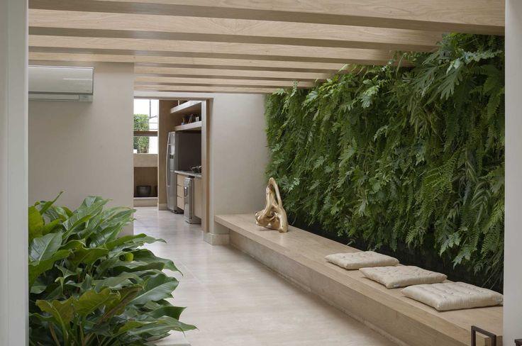 jardim vertical tijolo:Jardim vertical