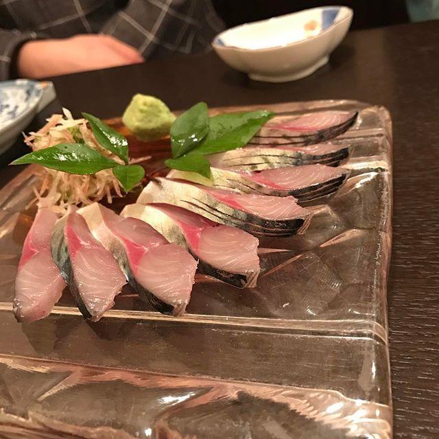 #五島食堂makoichi #やっぱ鯖は刺身に限る #ごまさばじゃ無いょ #五島列島の魚は旨し #やばい太った