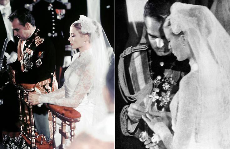 Los detalles de la boda de Grace Kelly con el príncipe Rainiero III de Mónaco