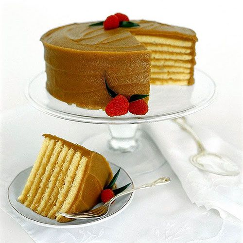 Okay i just ate this right now, Carolines Cake, it was THE best cake i've ever had, like it will be my wedding cake...