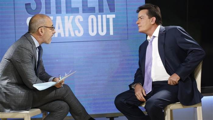 Charlie Sheen reveals he's HIV positive in TODAY Show exclusive ...