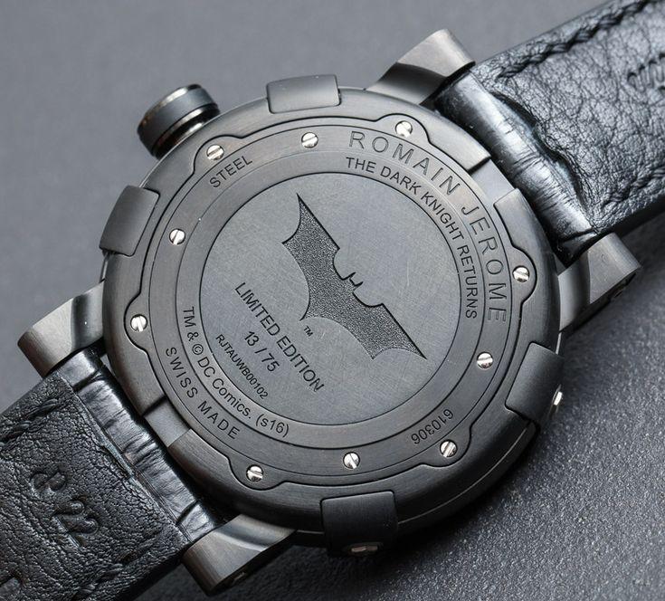 Romain Jerome Batman-DNA Gotham City Watch Hands-On