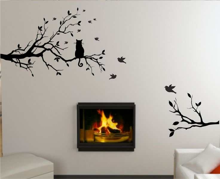 Large Tree Wall Stickers In Wallpaper U0026 Wall Coverings Part 88
