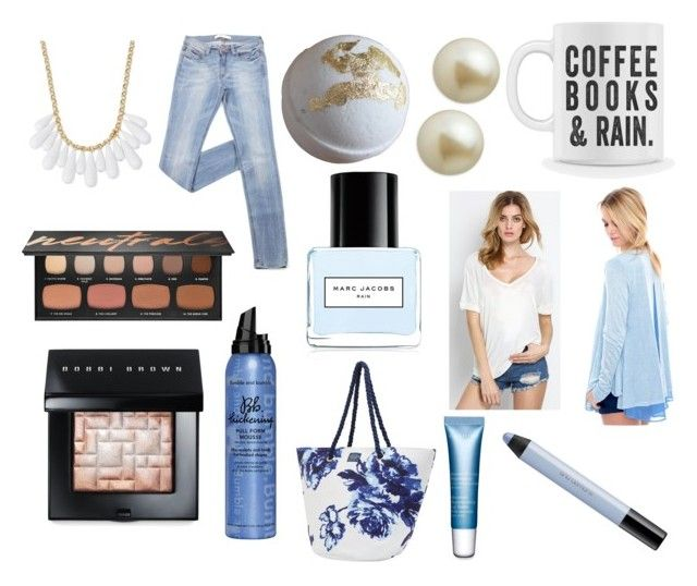 """""""Rain (Eleanor)"""" by gavroche-2017 on Polyvore featuring Marc Jacobs, Grayson, Joules, INC International Concepts, Carolee, Bumble and bumble, Clarins, shu uemura, Bare Escentuals and Bobbi Brown Cosmetics"""