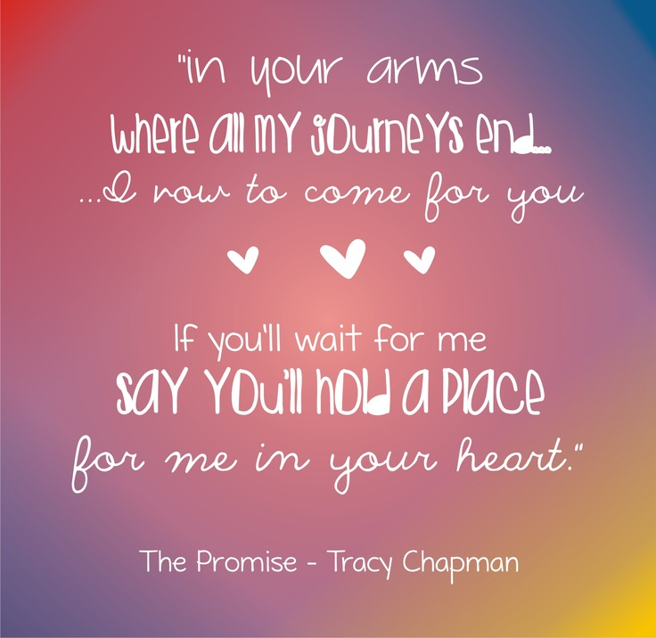 Lyric lyrics promise : Best 25+ Tracy chapman the promise ideas on Pinterest | Tracy ...