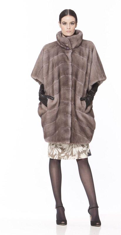 Braschi Sapphire Mink Fur Coat