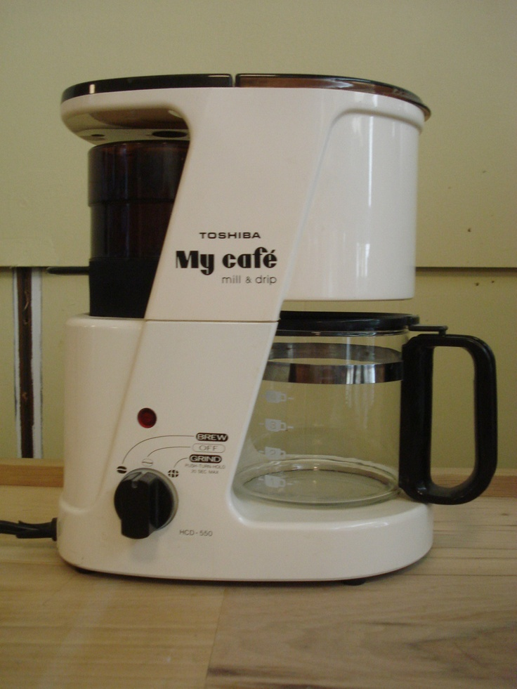 Fix K Cup Coffee Maker : Toshiba My Cafe Mill and Drip coffee maker parts or repair only 4 cup HCD-550 Coffee, Coffee ...