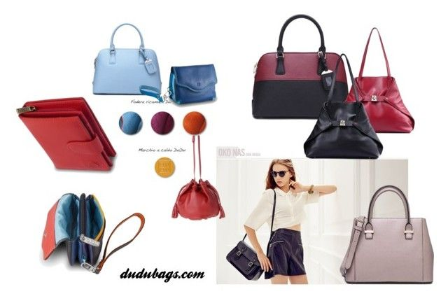 """dudubags"" by andrea-sara-maniga on Polyvore featuring moda, DUDU, shopping, colours, bags e dudubags"