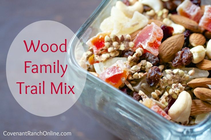 Wood Family Heathly trail mix | apps/snacks | Pinterest | Fruit Seeds ...