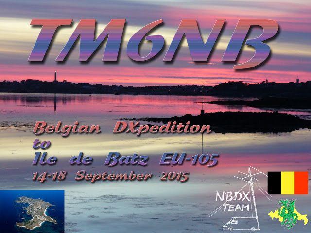 TM6NB Activation sur l'île de Batz