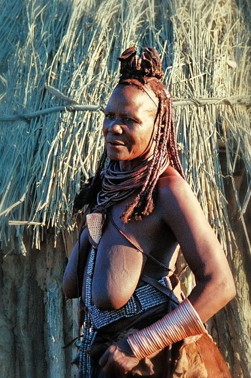 Namibian Himba Woman By Alfonso Navarro Táppero Africa