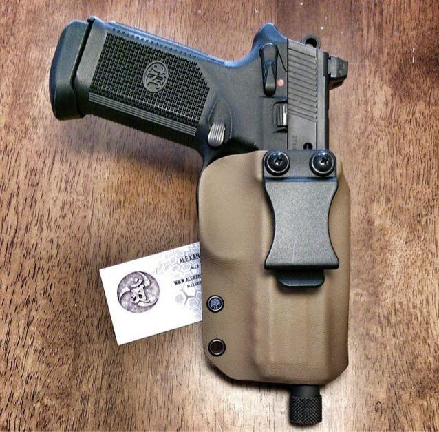 IWB holster for #fnx45 tactical. #fn #gun #holster #carryconcealed