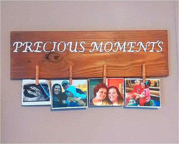 Precious Moments Picture Board  Wooden Picture by KimballKreations