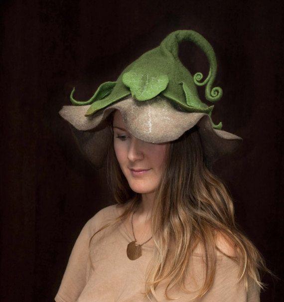 woman's flower hat