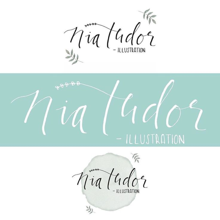 "Joining in with #meethemakerweek for the first time  Today is about ""Brand"" - I'm too indecisive for just the one ""logo"" so you'll usually find me under one of these!  I'm Nia  I'm an illustrator from South Wales and work from my home studio situated along the coast. I specialise in custom family portraits and dabble in some hand lettering and other illustrations. I started drawing again after my son was born as a way to pass some time and now here I am three years on and I'm busier than…"