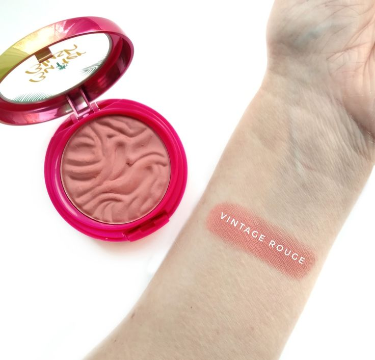 Physicians Formula Butter Blush Vintage Rouge swatches