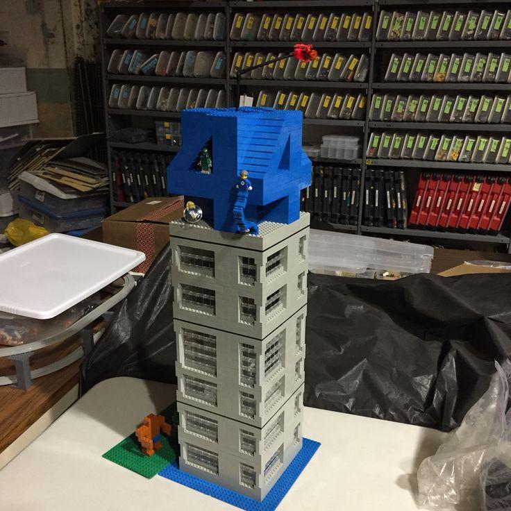 Four Freedom plaza Lego building