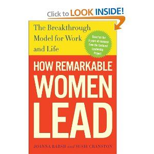 "Based on five years of proprietary research, How Remarkable Women Lead speaks to you as no other book has, with its hopeful outlook and unique ideas about success. It's the new ""right stuff"" of leadership, raising provocative issues such as whether feminine leadership traits (for women and men) are better suited for our fast-changing, hyper-competitive, and increasingly complex world."