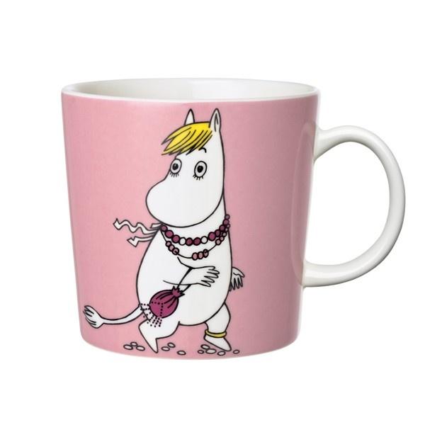 Arabia - Mumin - Snorkfröken rosa mugg