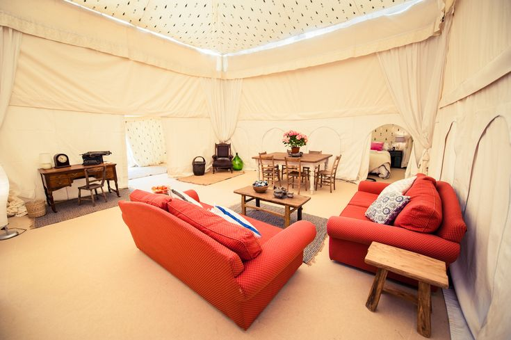 Glastonbury Festival's 'Pop-Up Hotel' Makes Us Actually Consider Camping
