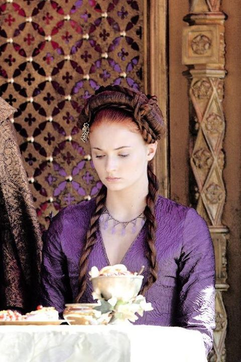 """Game of Thrones season 4. Sansa """"Who does depression hurt?"""""""