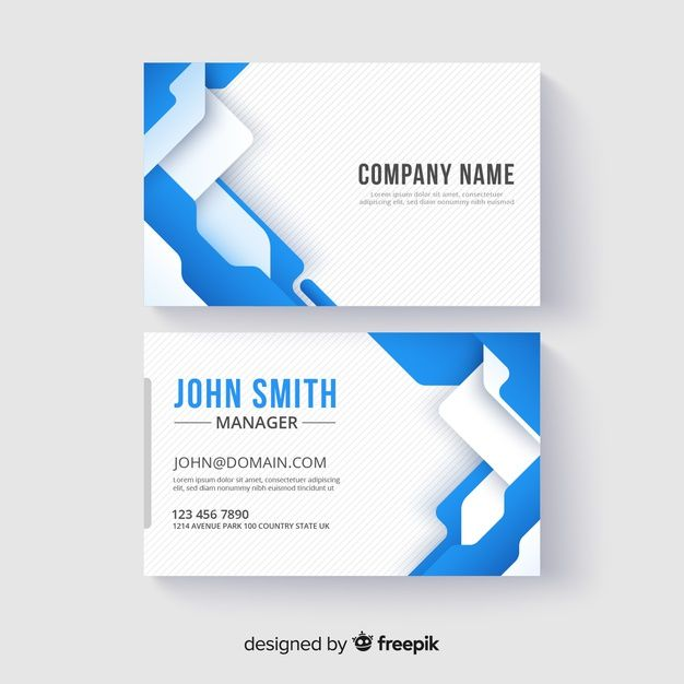 Download Abstract Business Card Template For Free Business Cards Layout Glossy Business Cards Free Business Card Templates
