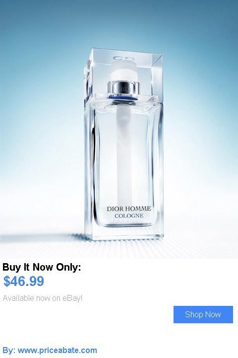 Men Fragrance: Dior Homme Cologne By Christian Dior 4.2 Oz (125 Ml) Spray **Authentic** New BUY IT NOW ONLY: $46.99 #priceabateMenFragrance OR #priceabate