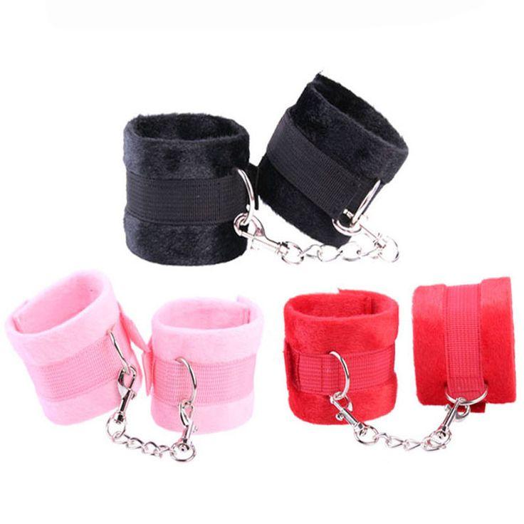 Nylon Sex Game Handcuffs Restraints Bondage Submissive Fetish BDSM cuffs Sex Toys for Couples 3 Colors