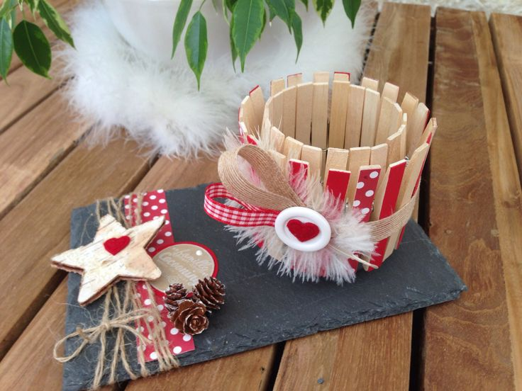 Photophore pinces linge march de no l pinterest - Idee de bricolage pour noel ...